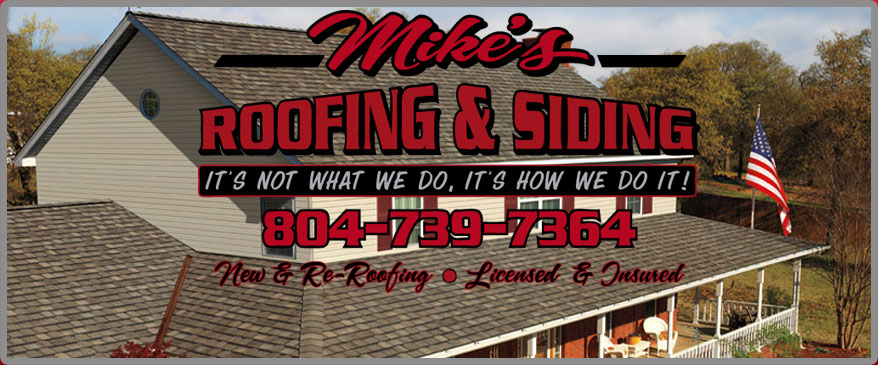 Mikeu0027s Roofing U0026 Siding : Roofing Contractors In Richmond, Virginia